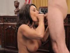Sugar Breasty Lisa Ann With Blowjob Video